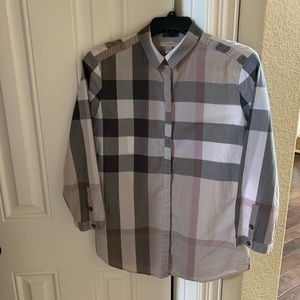 Burberry Brit check button shirt